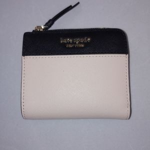 NWT Kate Spade Cameron L zip small billfold wallet